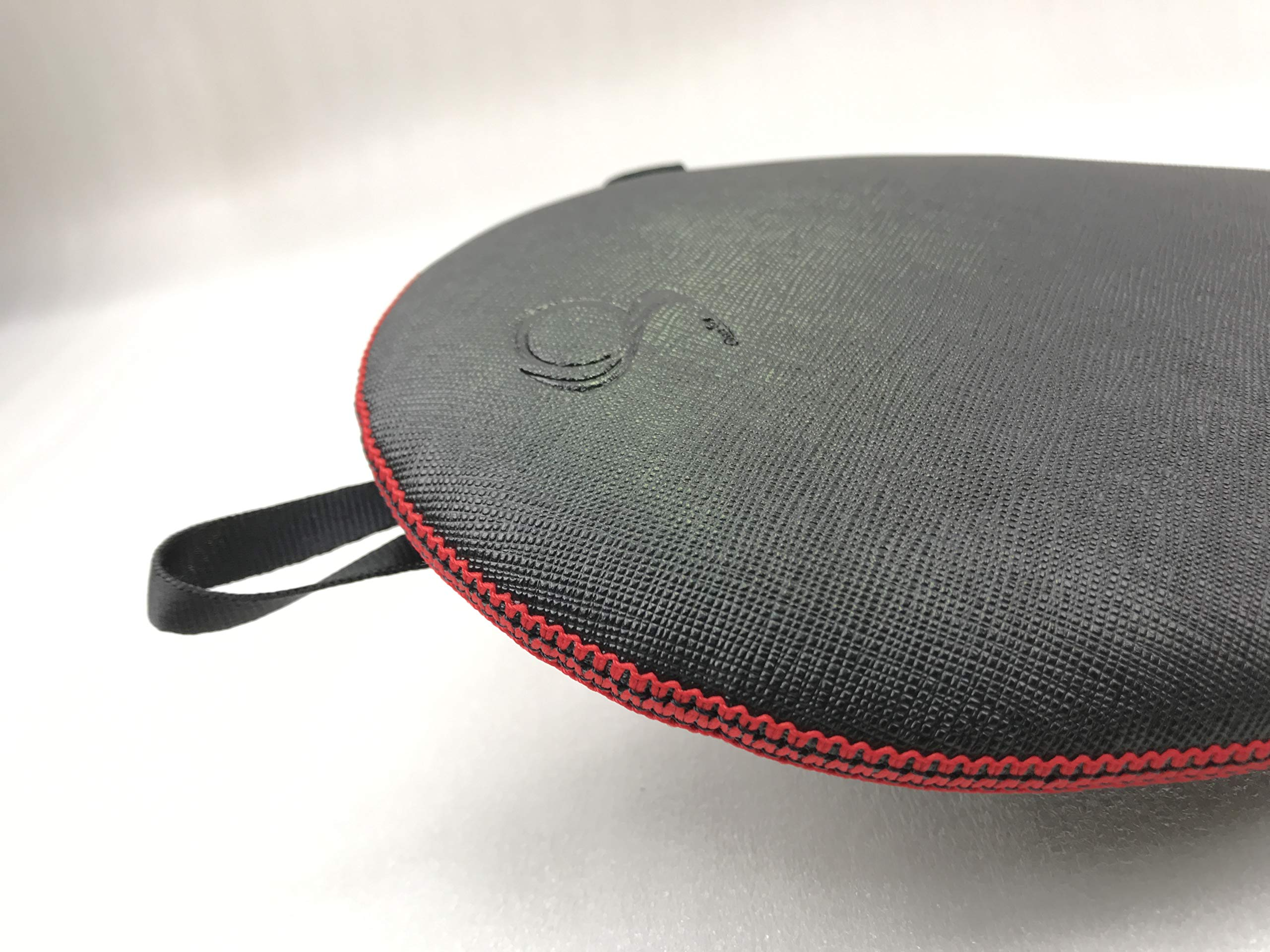 ONEJOY Ping Pong, Table Tennis Racquet Bag,Case,Cover with Zipper AJ61,Loop to Hook, Full Cover 28cm x 17cm for 1 Racquet/Racket/Paddle. by ONEJOY (Image #5)