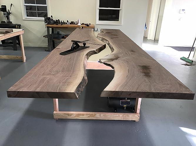 Amazoncom Live Edge DiningConference Table Handmade - Handmade conference table