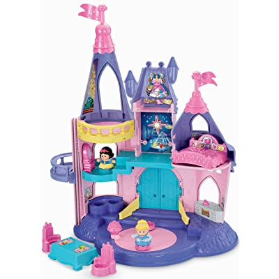 Fisher-Price Little People Disney Princess, Songs Palace: Toys & Games