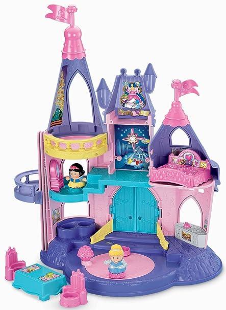 amazon com fisher price little people disney princess songs palace