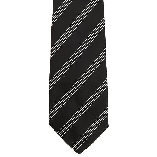 Premier Tie - Corbata 4 Lineas Hombre Caballero - Trabajo (Paquete ...
