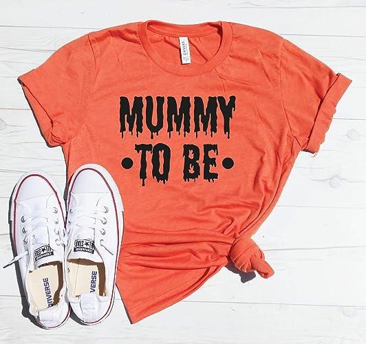 Halloween Pregnancy Announcement Shirt.Amazon Com Mummy To Be Shirt Halloween Pregnancy