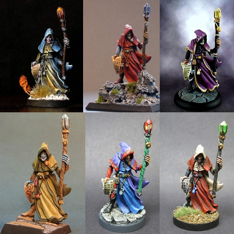 1 x SATHERAS BONES REAPER figurine iconic d/&d jdr magicien warlock mage 77040