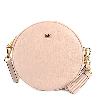 7523ded8cb1f Michael Kors Mercer Medium Canteen Crossbody Bag- Soft Pink  Handbags   Amazon.com
