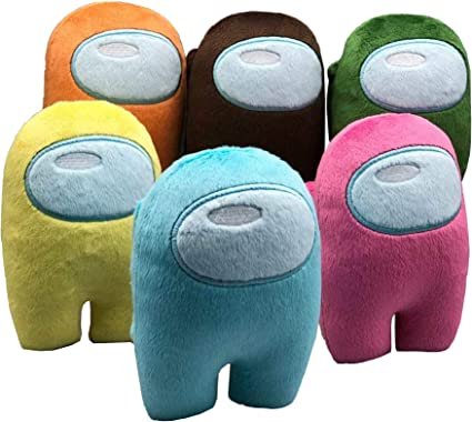 12Colors Soft Doll Among Us Game Cute Crewmate Plush Soft Stuffed Toy Gift 10CM