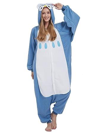 Jumpsuit Onesie Tier Karton Fasching Halloween Kostum Sleepsuit
