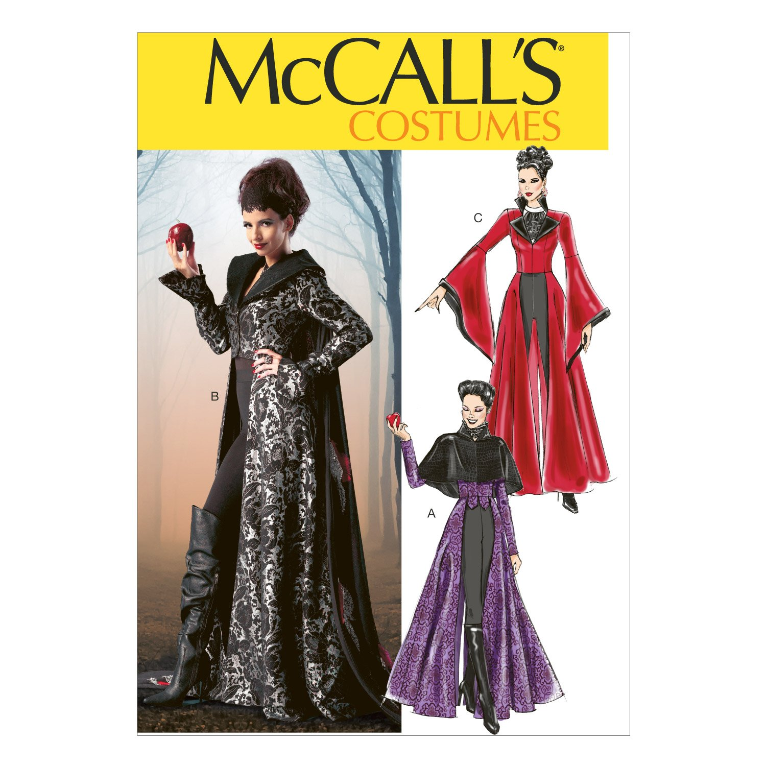 McCall Pattern Company M6818 Misses' Costumes Sewing Template, Size D5 (12-14-16-18-20) M6818D50