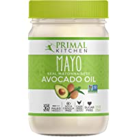 Primal Kitchen - Avocado Oil Mayo, Gluten and Dairy Free, Whole30 and Paleo Approved (12 oz)