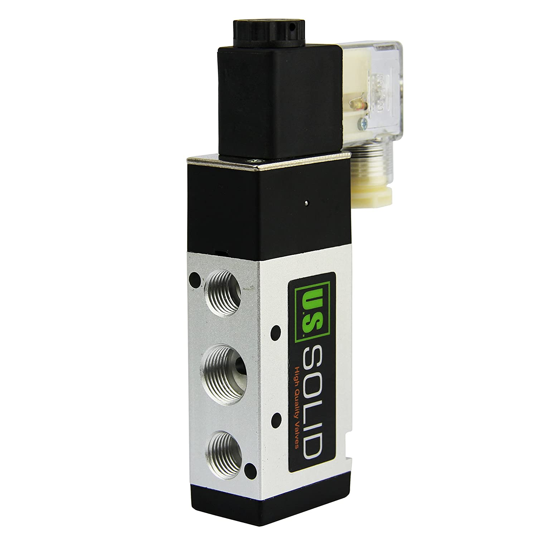 3//8 NPT 5 Way 2 Position Pneumatic Electric Solenoid Valve/AC 110 V