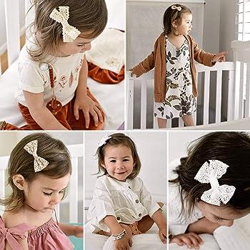 5Pcs//Bag Baby Girls Hair Bows For Kids Hair Bands Alligator Hair Clips CB