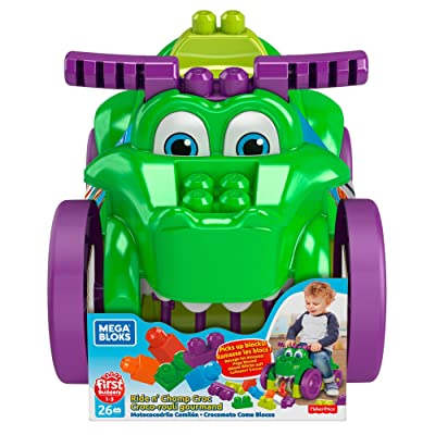 Mega Bloks Ride 'n Chomp Croc: Toys & Games