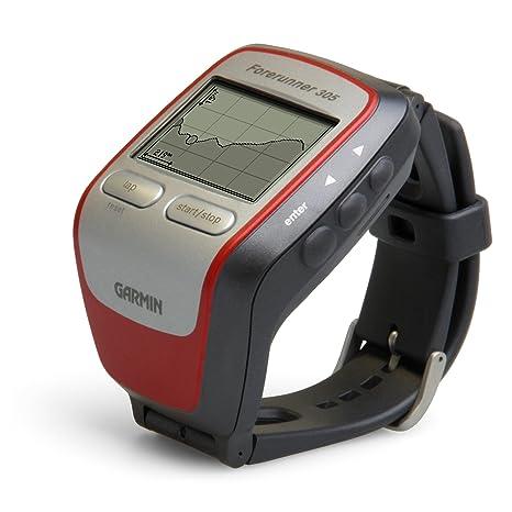 Garmin Forerunner 305: GPS de pulsera, entrenador personal, ritmo cardíaco