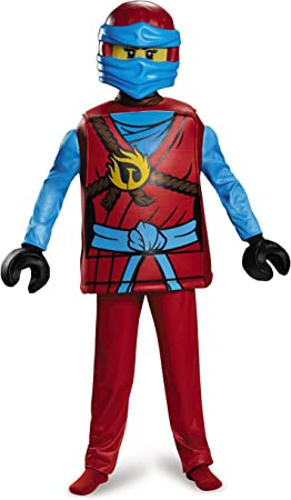 LEGO - Disfraz Ninjago NYA Deluxe (Grande): Amazon.es: Juguetes y ...