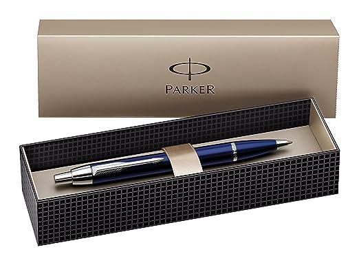 146 opinioni per Parker S0856460- Penna a sfera IM C.C, larghezza tratto M, colore: Blu