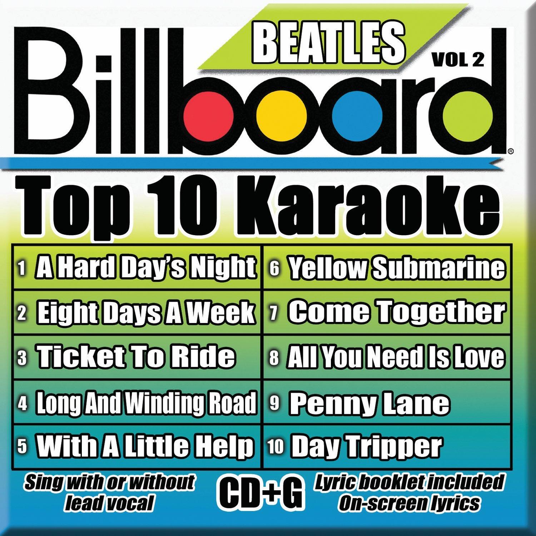 Billboard Karaoke - Billboard Beatles Top 10 Karaoke Vol 2 [10+10-song CD+G]