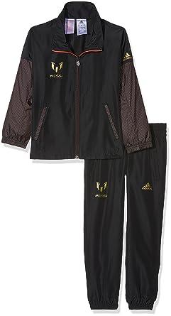 42526ce568c adidas Children's Messi Track Suit Kids Gym: Amazon.co.uk: Clothing