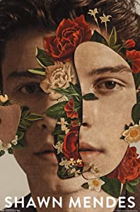 Trends International Shawn Mendes-Floral Wall Poster, 22.375