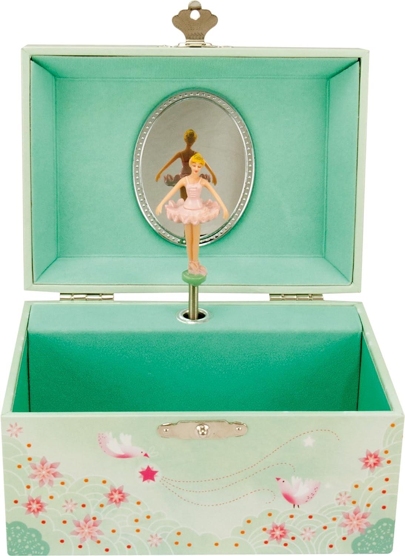 caja musical con bailarina