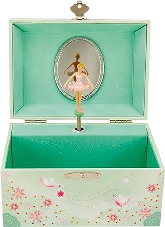 Carillon Con Ballerina.Portagioie Carillon Ballerina E Stelle