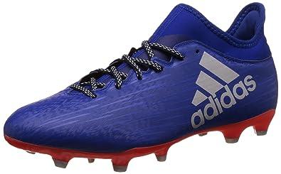 new product 82c25 70129 Chaussures X 16.3 FG Bleu Football Homme Adidas, 42 EU,