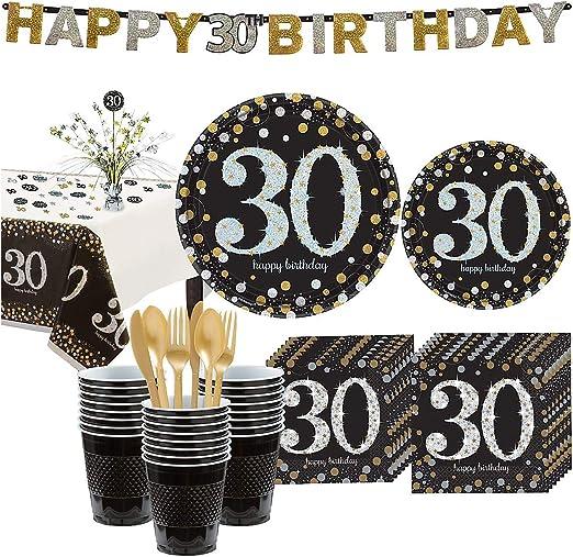 Amazon.com: Party City - Kit de fiesta de cumpleaños para 32 ...
