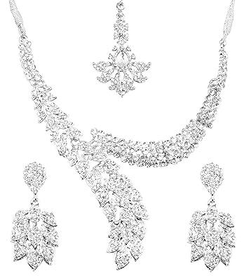 2e7de07de Amazon.com: Touchstone Indian Bollywood Paisley/Scarf White Crystals ...