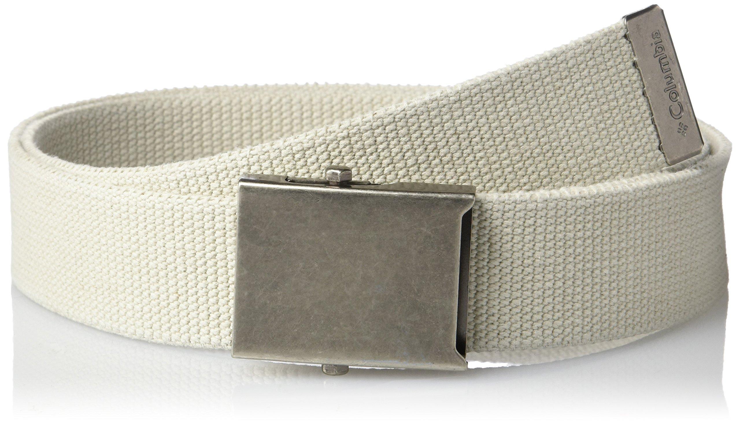 Columbia Men's Military-style Web Belt,Ivory,42