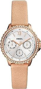 FOSSIL Reloj Analógico para Señoras de Cuarzo con Correa en Cuero ES4888