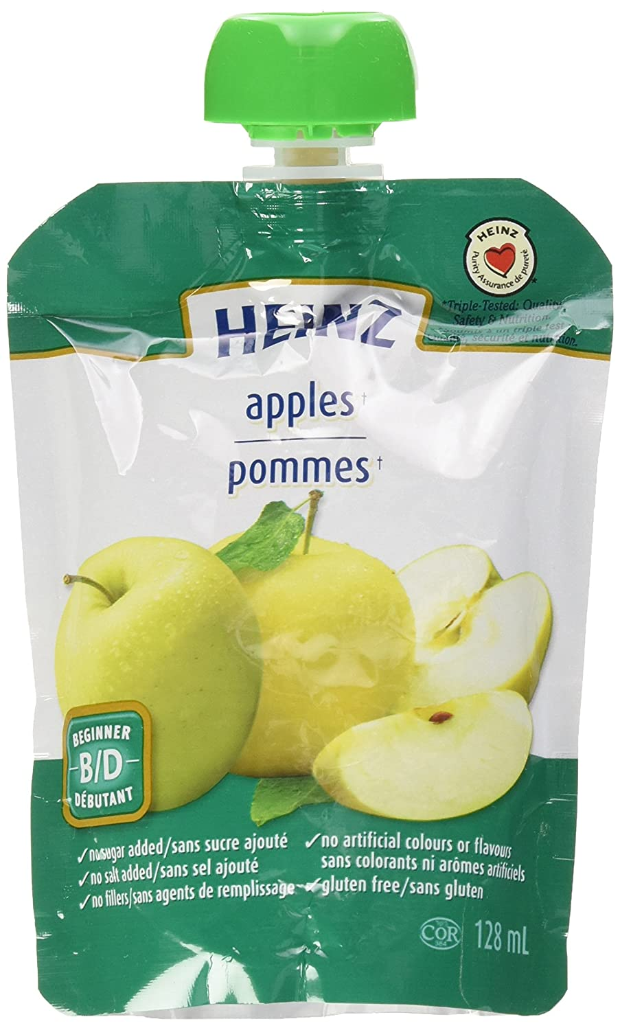 HEINZ Beginner - Strained Pear Pouch, 6 Pack, 128ML Each Kraft Heinz Canada ULC