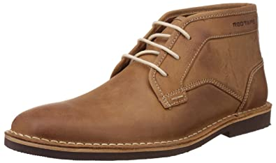 1065cc75db064 Red Tape Men's Leather Chukka Boots
