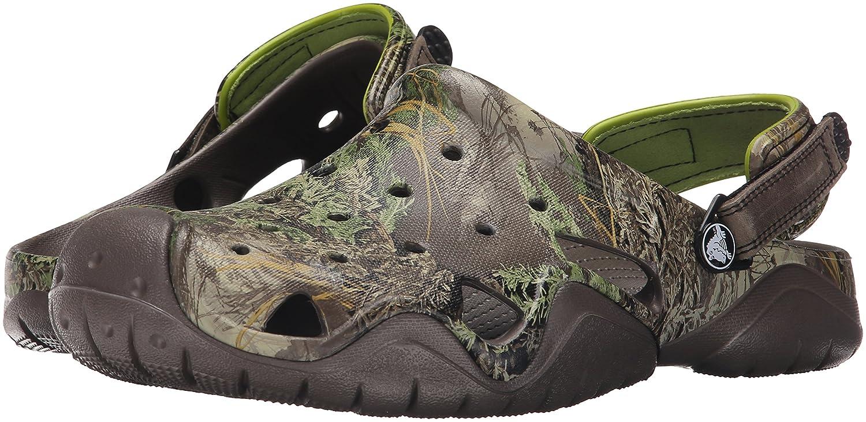 1ef32f7a77747 Amazon.com | Crocs Men's Swiftwater Realtree Max-1 Clog Mule | Mules & Clogs