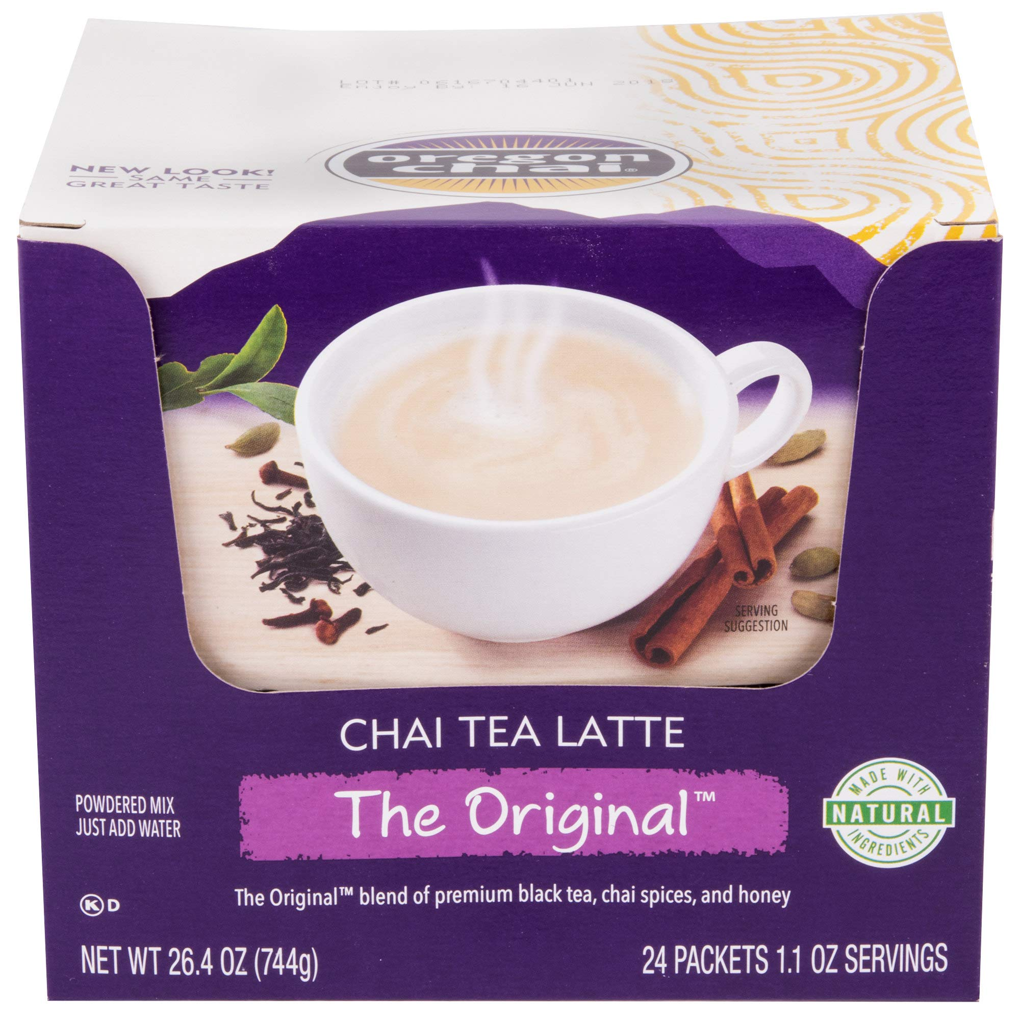 TableTop King 24 ct. Single Serve Packets Original Chai Dry Mix - 6/Case by TableTop King (Image #1)