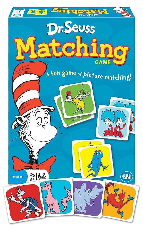 Amazon.com: Dr. Seuss Matching Game: Toys & Games