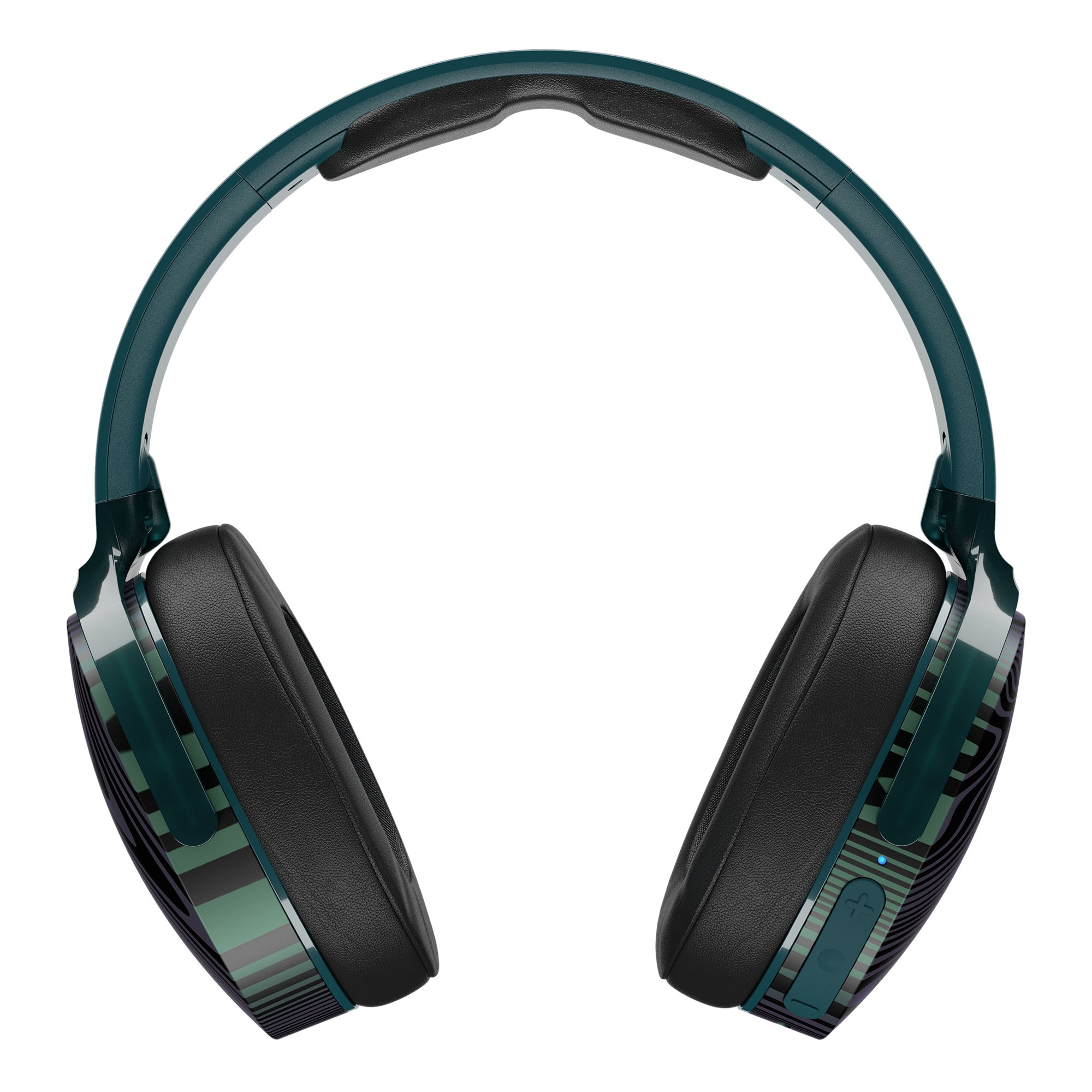 Skullcandy Hesh 3 Bluetooth Wireless Over-Ear Headphones with Microphone, Rapid Charge 22-Hour Battery, Foldable, Memory Foam Ear Cushions for Comfortable All-Day Fit, Psycho Tropical by Skullcandy