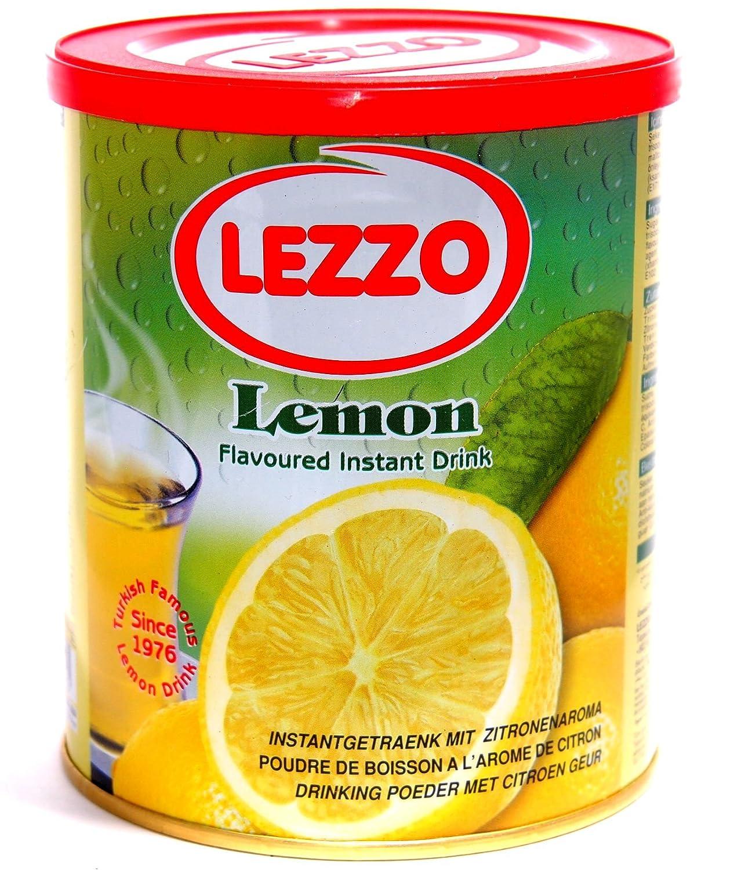 Lezzo Instantgetränk mit Zitronengeschmack 700g: Amazon.de ...