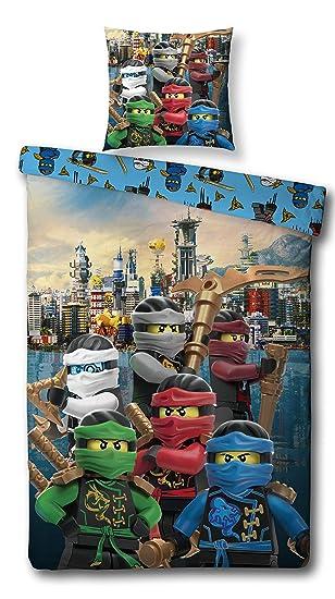 Character World Ninjago Motiv Bettwäsche Lego Kinder Bettwäsche