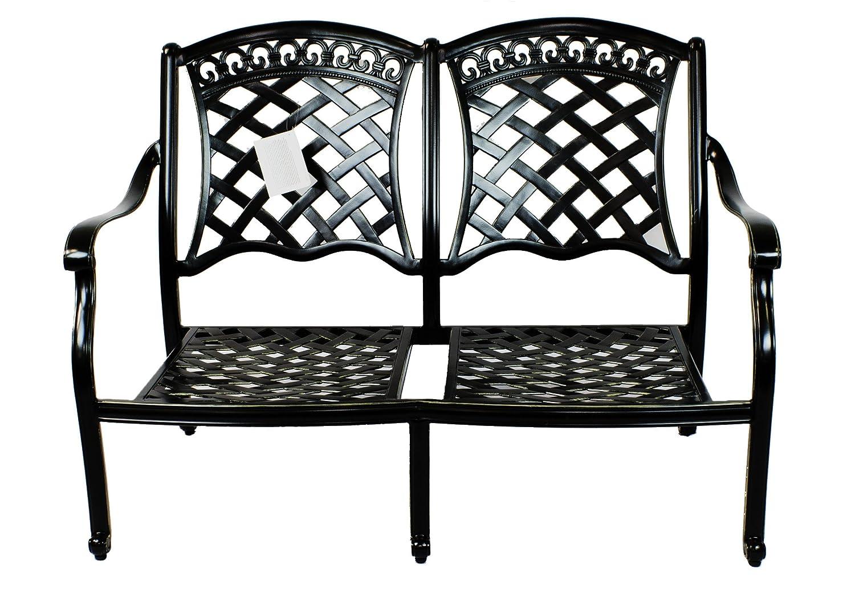 Amazon.com: ST. TROPEZ 6 piezas Juego de sofá de aluminio ...