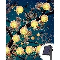 Litogo Farolillos Solares Exterior, 6M 40 LED Guirnalda Exterior Solar, Luces Decorativas Exterior Guirnalda Luces…
