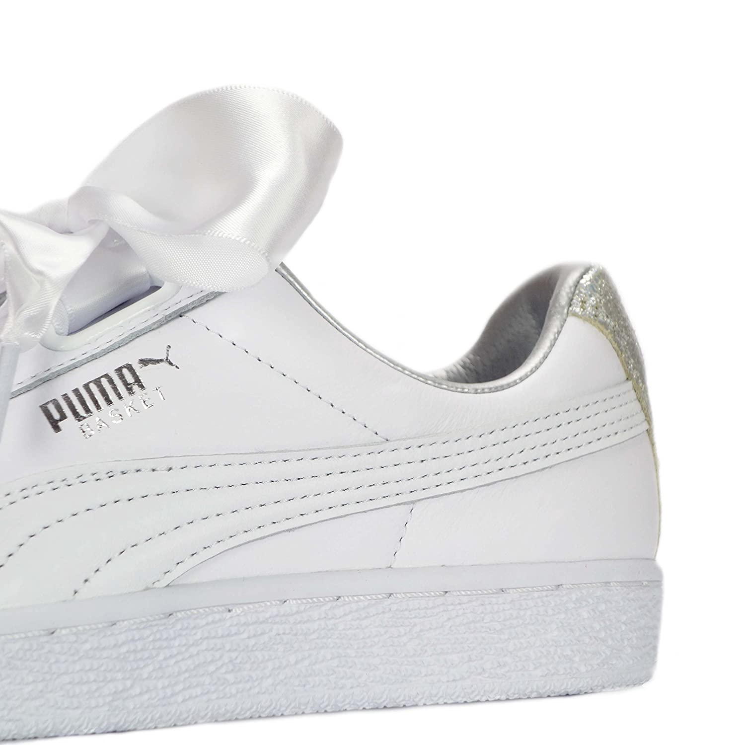 Puma Basket Heart Diamond Crush - Women Shoes (UK-5): Amazon.co.uk ...