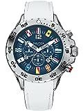Nautica NST Chrono Flag A24514G - Reloj cronógrafo