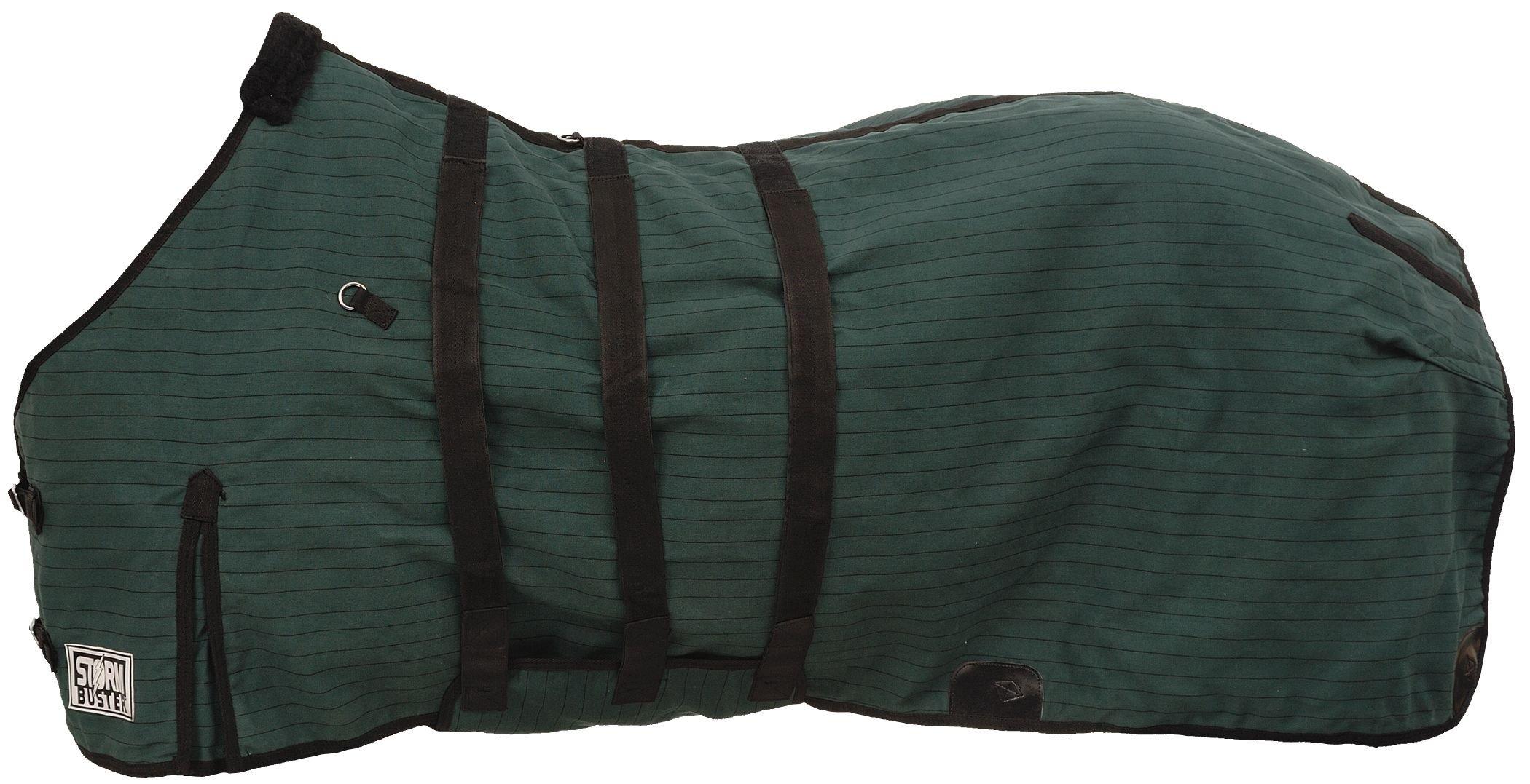 Tough 1 Storm-Buster Belly-Wrap Blanket, Hunter Green/Black, 78-Inch