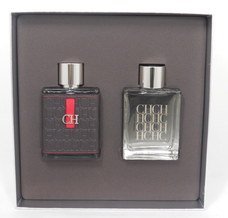 CH CAROLINA HERRERA (NEW) by Carolina Herrera Cologne Gift Set for Men (SET-EDT SPRAY 3.4 OZ & AFTER