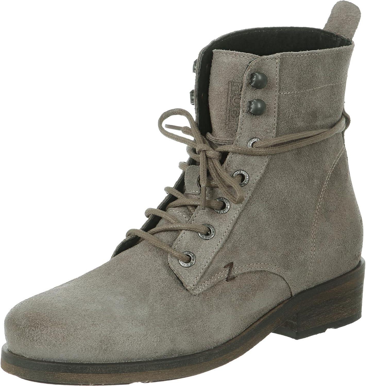 Hub Damen Schuh Uma Waxed Suede Shoes Women: