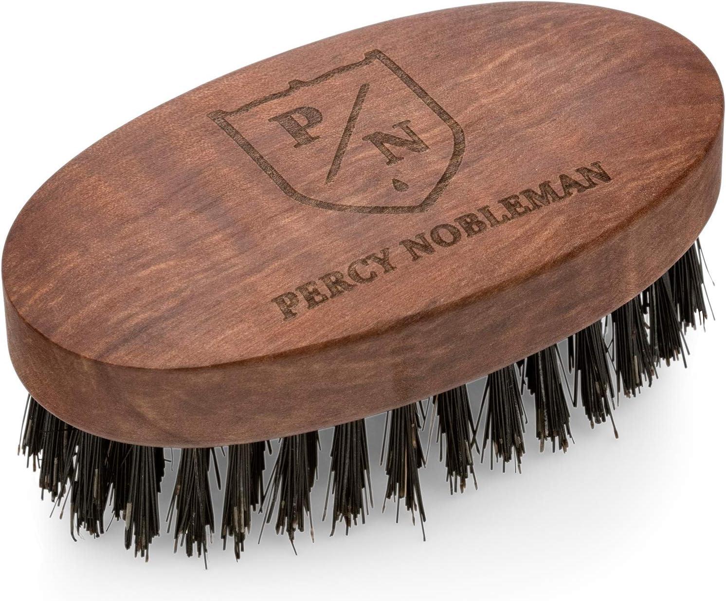 Spazzola per barba vegan Percy Nobleman