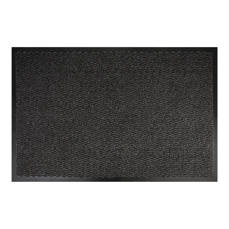 rutschfest Schmutzfangmatte 1500x900 mm T/ürvorleger anthrazit-schwarz STIER Fu/ßmatte Schmutzaufnahme waschbar