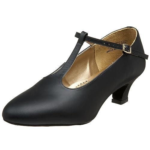 aaef7b5d20c5 Capezio Women s BR05 Classic T-Strap 1.5 quot  Ballroom Shoe