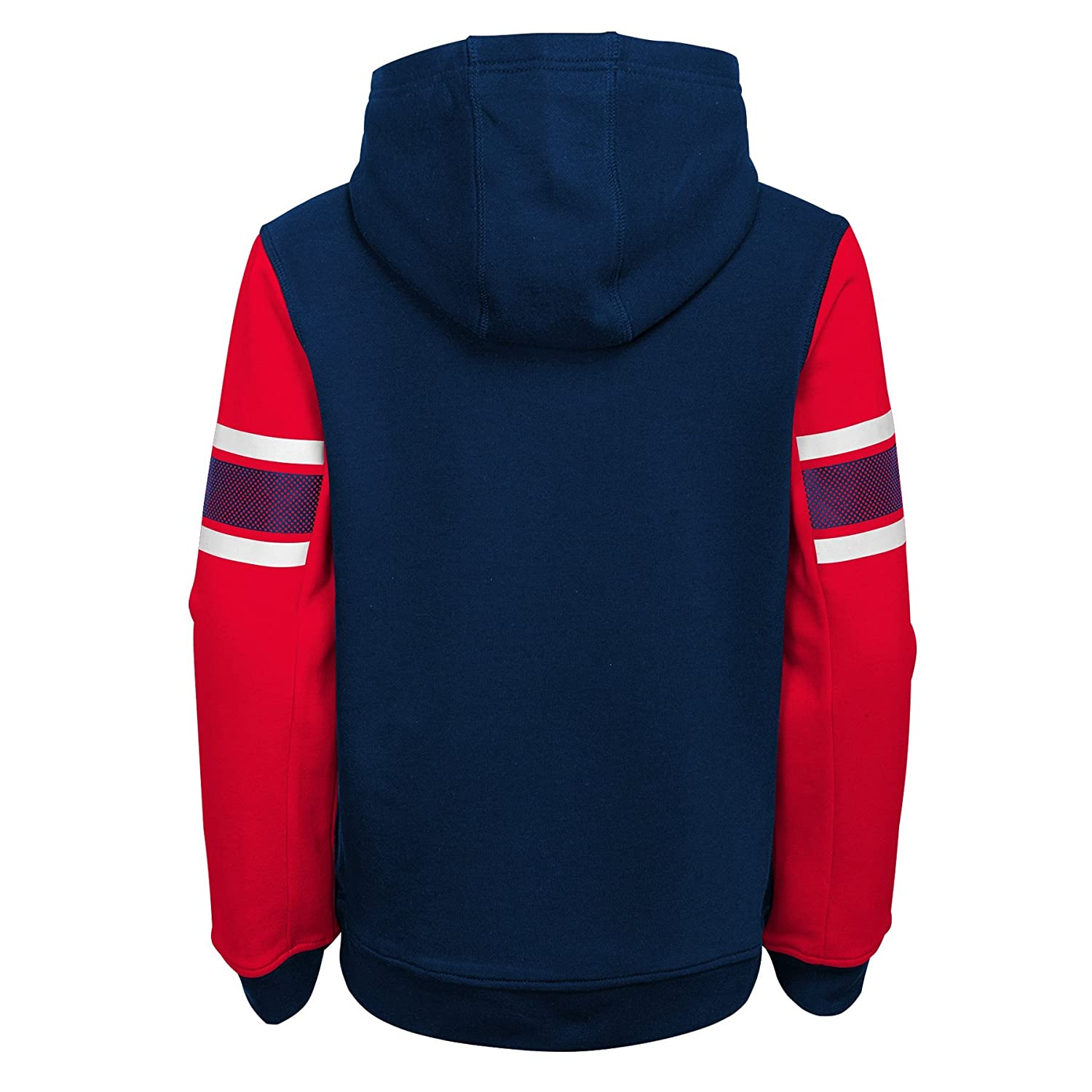 4-6 Kids Small Team Color NFL New England Patriots 4-7 Outerstuff Man In Motion Pullover Hoodie