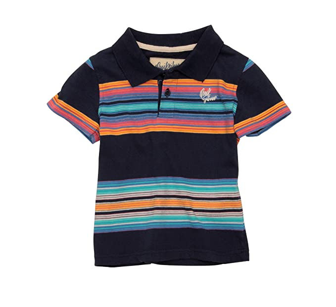 Quiksilver Beacon S - Polo Infantil, tamaño 86, Color Negro ...