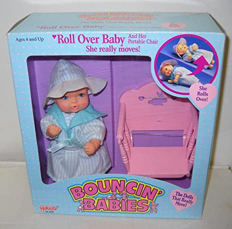 Amazon Com Roll Over Baby Her Portable Chair By Galoob 1988 She
