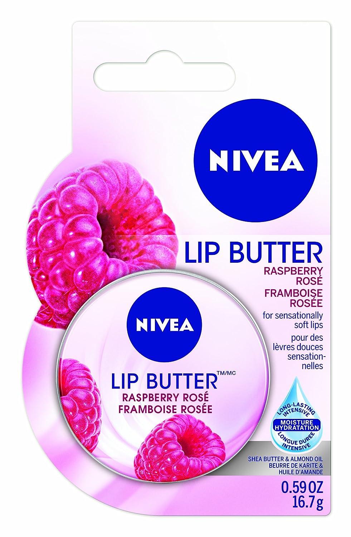NIVEA Lip Butter Raspberry Rosé, 16.7g Beiersdorf Inc. CA 56594007222